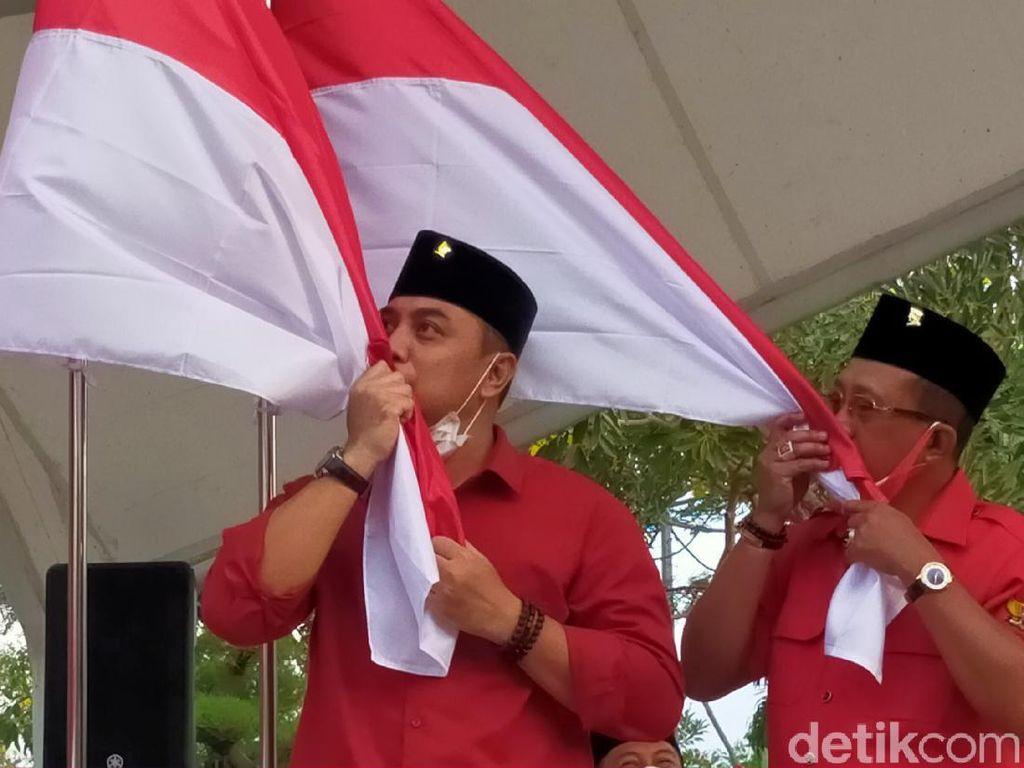 Diantar Whisnu Sakti, Besok Eri-Armuji Daftar ke KPU Surabaya