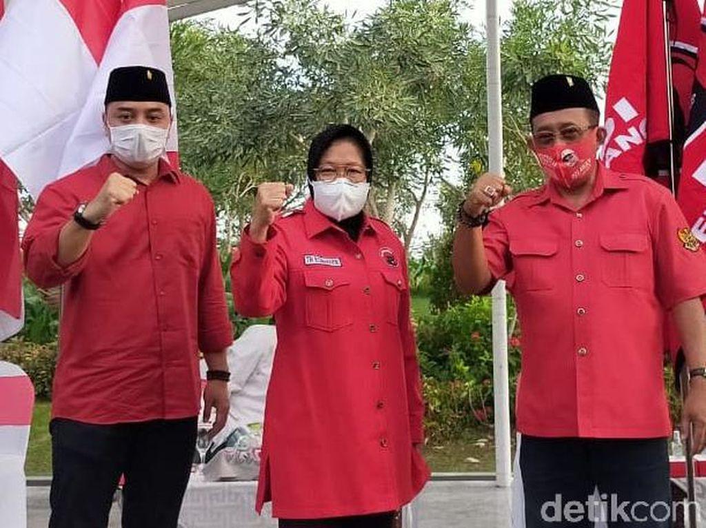 Pesan Risma ke Eri-Armuji yang Diusung PDIP di Pilkada Surabaya