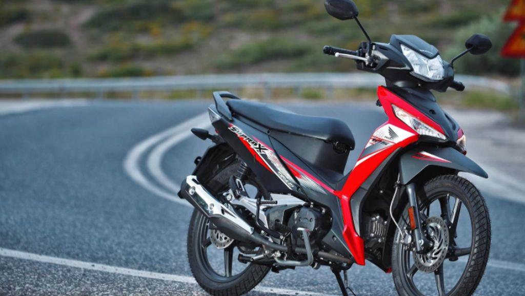 Penampakan Honda Supra Seharga Rp 48 Juta