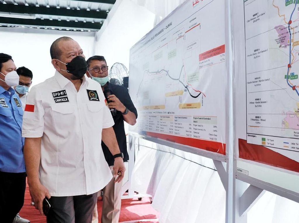 Kunker ke Riau, Ketua DPD Ingatkan 2 Hal ke Pertamina Rokan