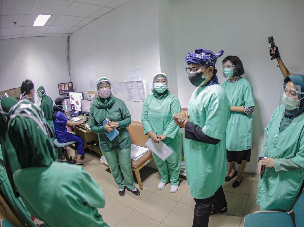 32 Relawan Satgas Pusat Bantu Penanggulangan COVID-19 di Kota Bogor