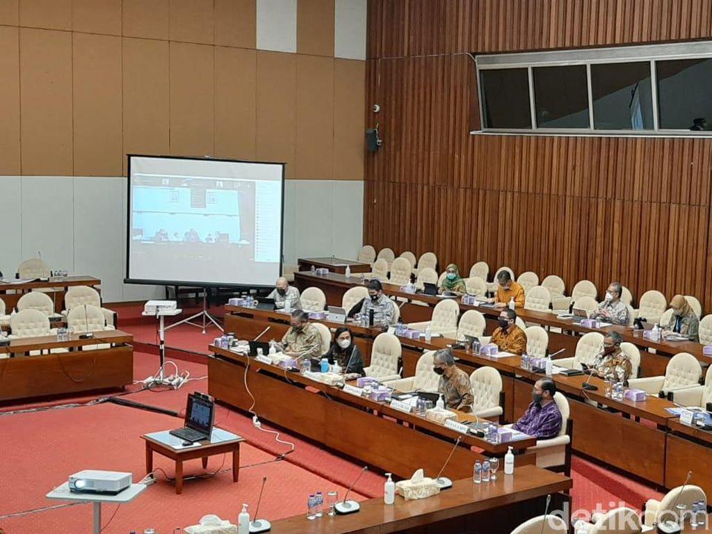 Gara-gara Kepala Bappenas, Rapat Sri Mulyani di DPR Molor