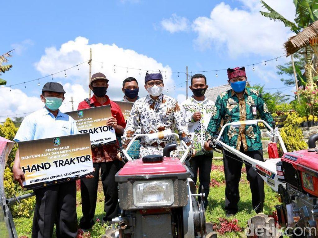 Pertanian Banyuwangi Diapresiasi hingga Dapat Bantuan 162 Alat dan Mesin