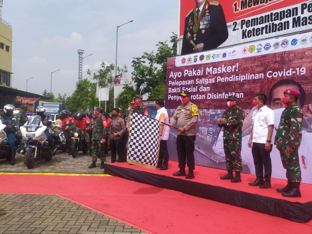 Deklarasi #PriokBermasker, Kapolda: Jadikan Masker Kebiasaan Baru