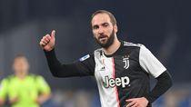Higuain Resmi Pisah dengan Juventus