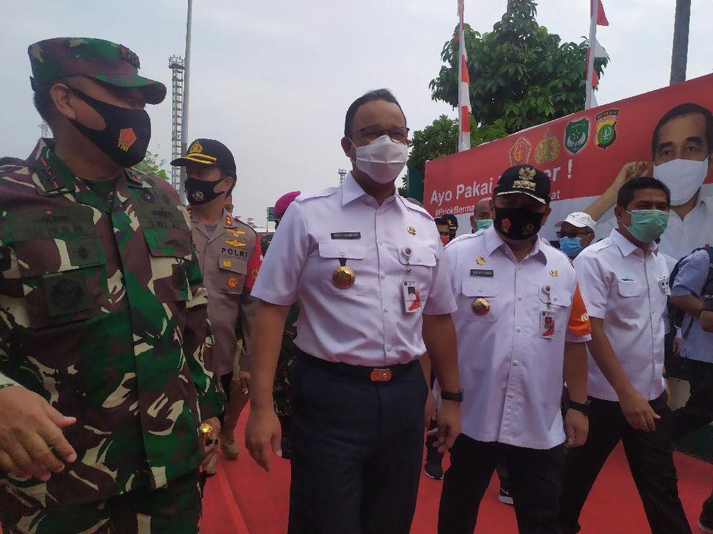Deklarasi #PriokBermasker, Anies Klaim Telah Bagikan 22 Juta Masker di DKI