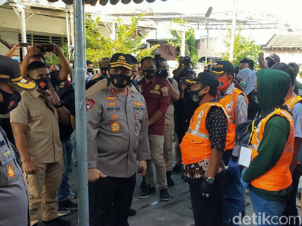 Kunjungi Kampung Tangguh Surabaya, Wakapolri Beri Support Relawan