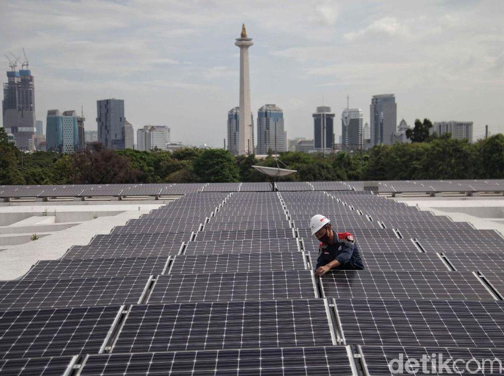 Sekarang RI Punya Panel Surya Terbesar di ASEAN