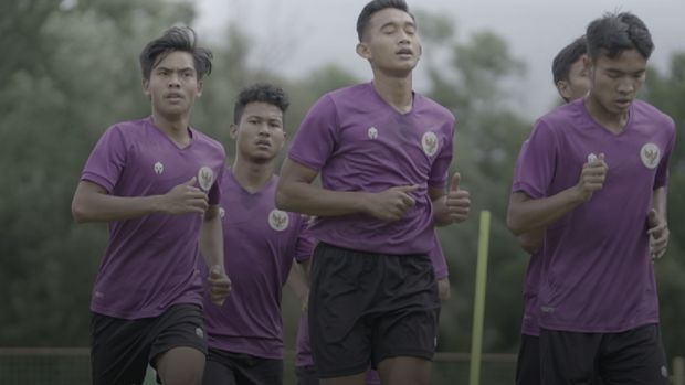Latihan Timnas Indonesia U-19 Jelang Lawan Bulgaria