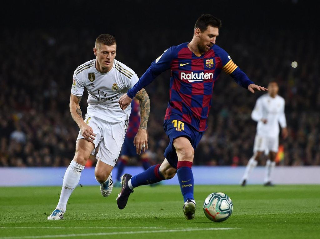 Kroos: Kalau Messi Pergi, Barcelona Kehilangan Senjata Terbaiknya