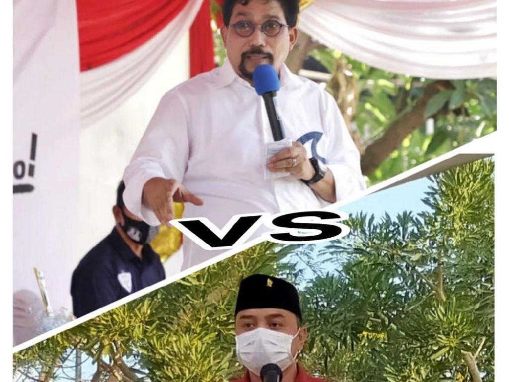 Tok, Eri-Armuji dan Machfud-Mujiaman Resmi Bertarung di Pilwali Surabaya 2020