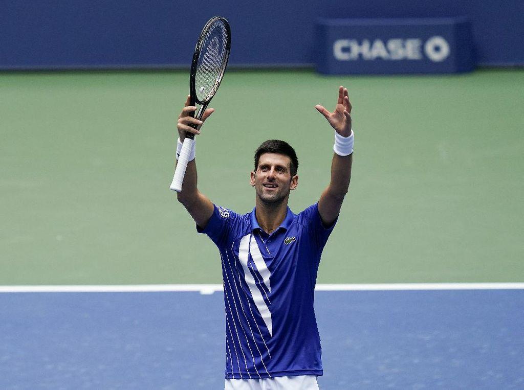 AS Terbuka: Novak Djokovic dan Naomi Osaka Belum Terhentikan