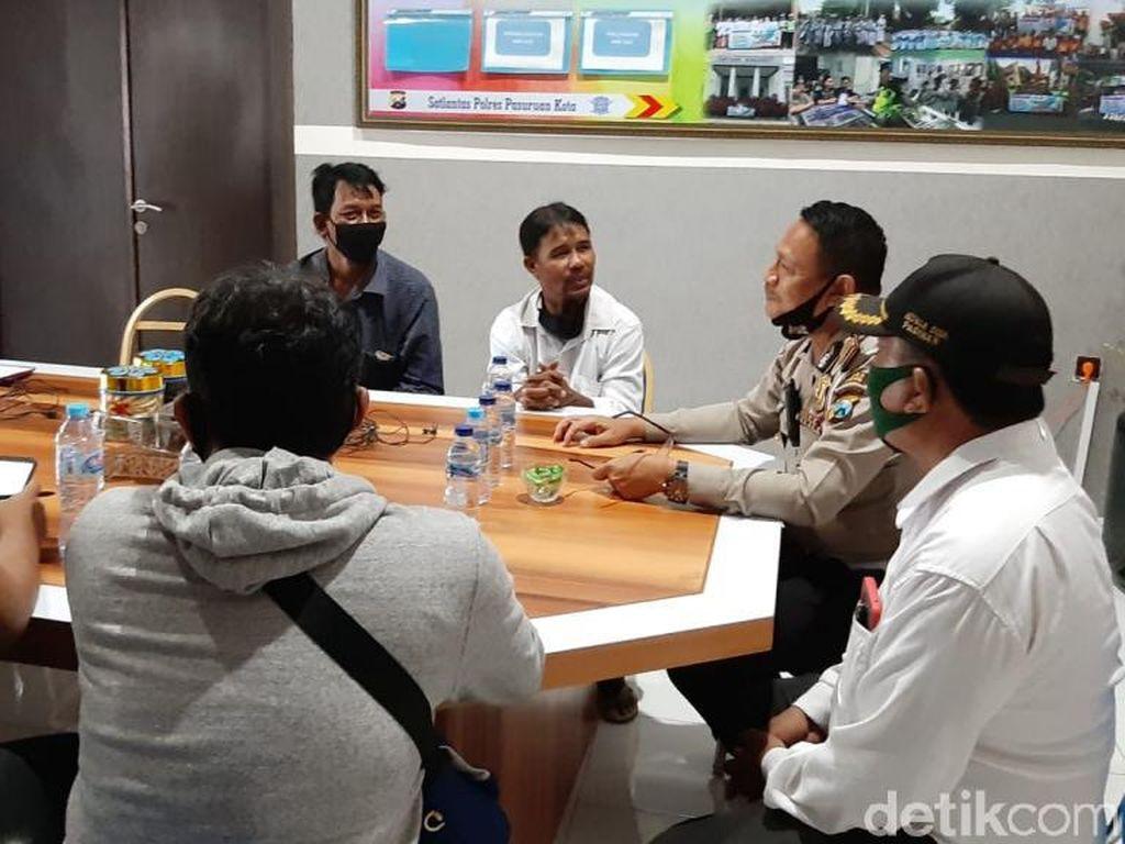 Pemotor di Pasuruan yang Nyetir dengan Satu Kaki Diamankan dan Minta Maaf