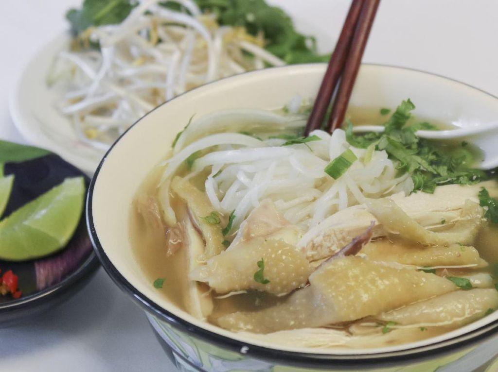 Resep Bihun Kuah Ayam ala Vietnam