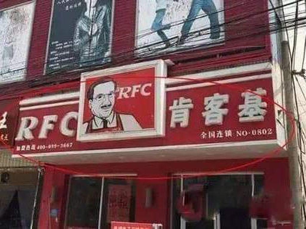 Parah! Banyak Restoran KW Super di China, Hati-hati Terkecoh