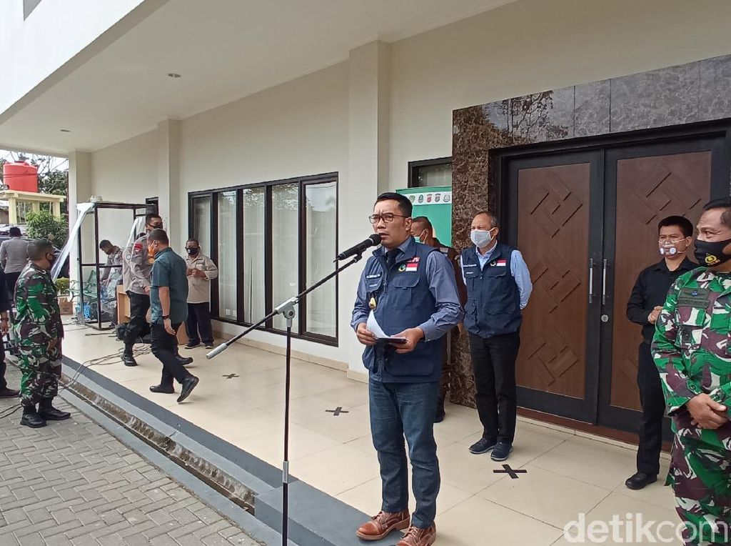 Zona Merah di Bodebek Bertambah, Ridwan Kamil Perpanjang PSBB