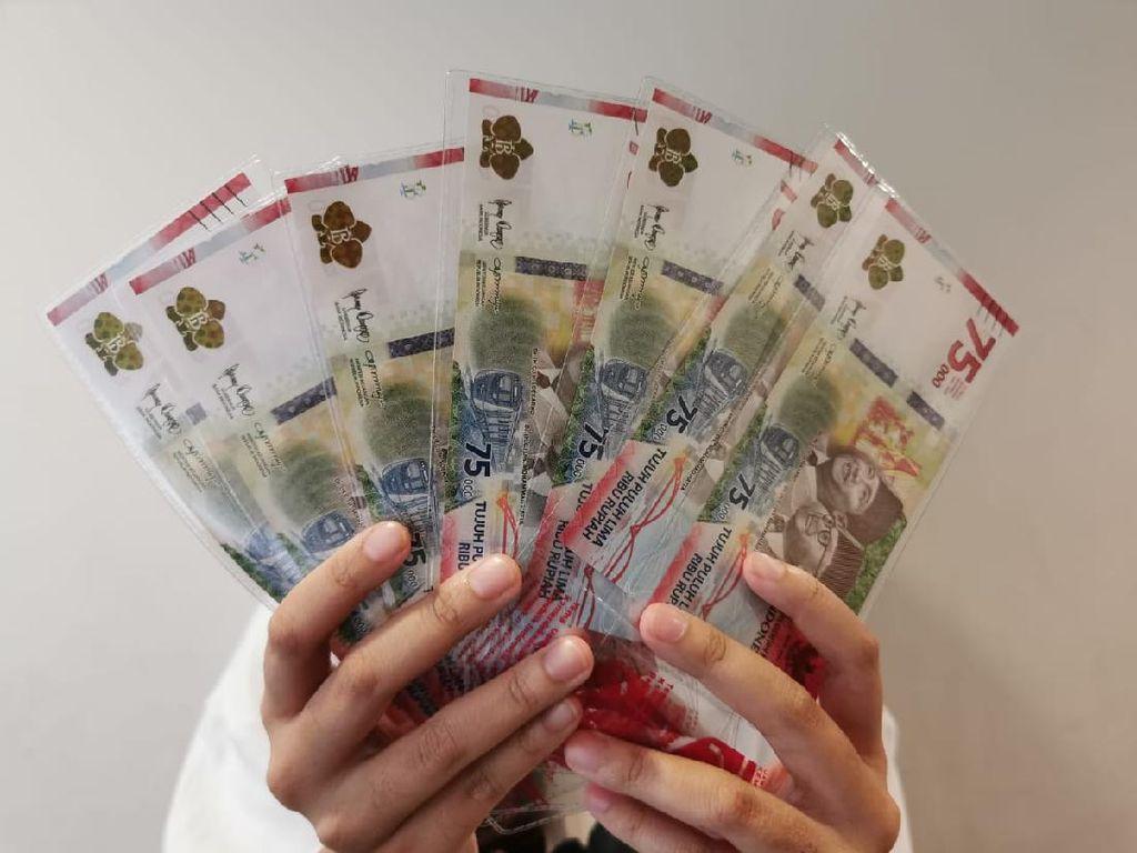 Uang Rp 75.000 Ditolak Tukang Sate, BI: Belum Dapat Info Saja