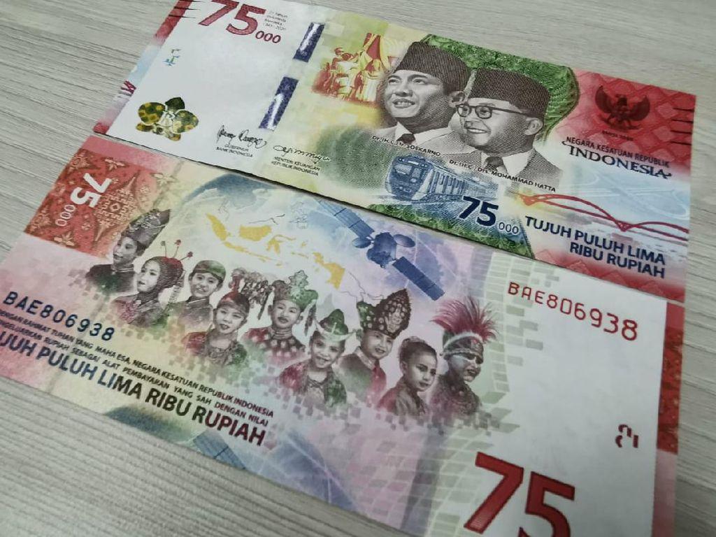 Uang Rp 75.000 Ramai Dilelang Jutaan Rupiah di Facebook