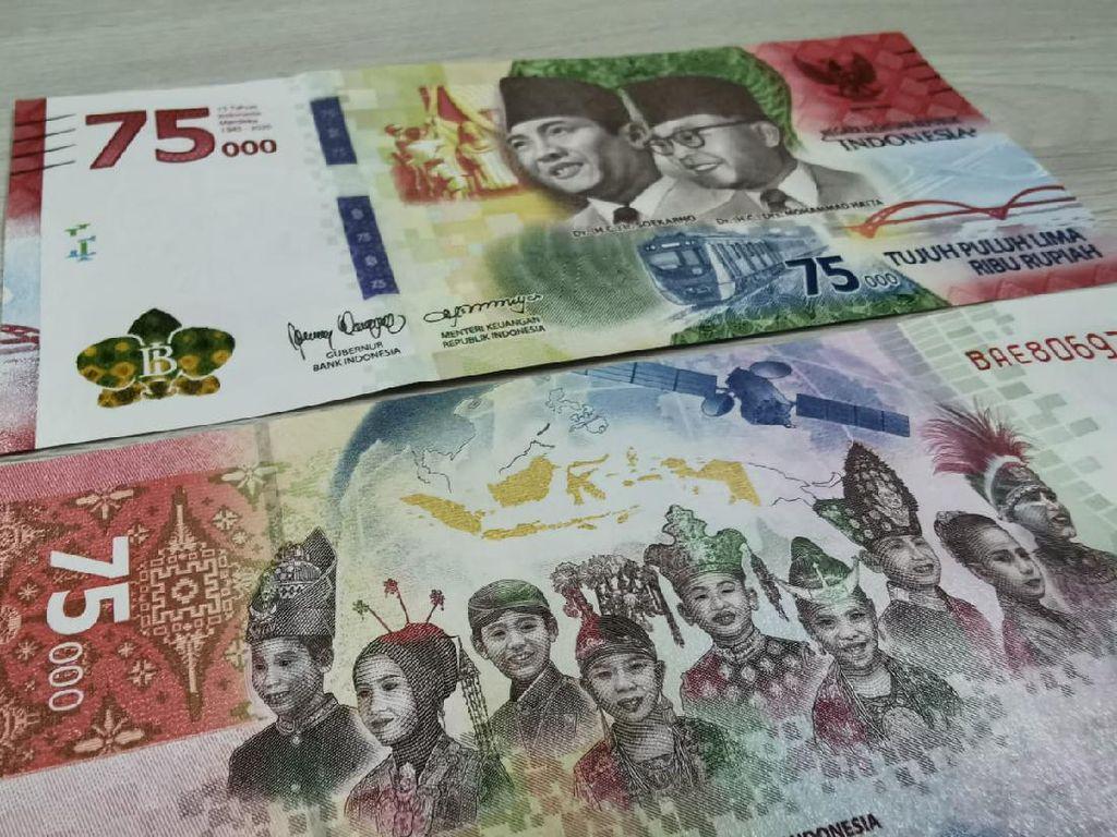 Tukar Uang Baru Rp 75.000 Sekarang 1 KTP Bisa buat 100 Lembar