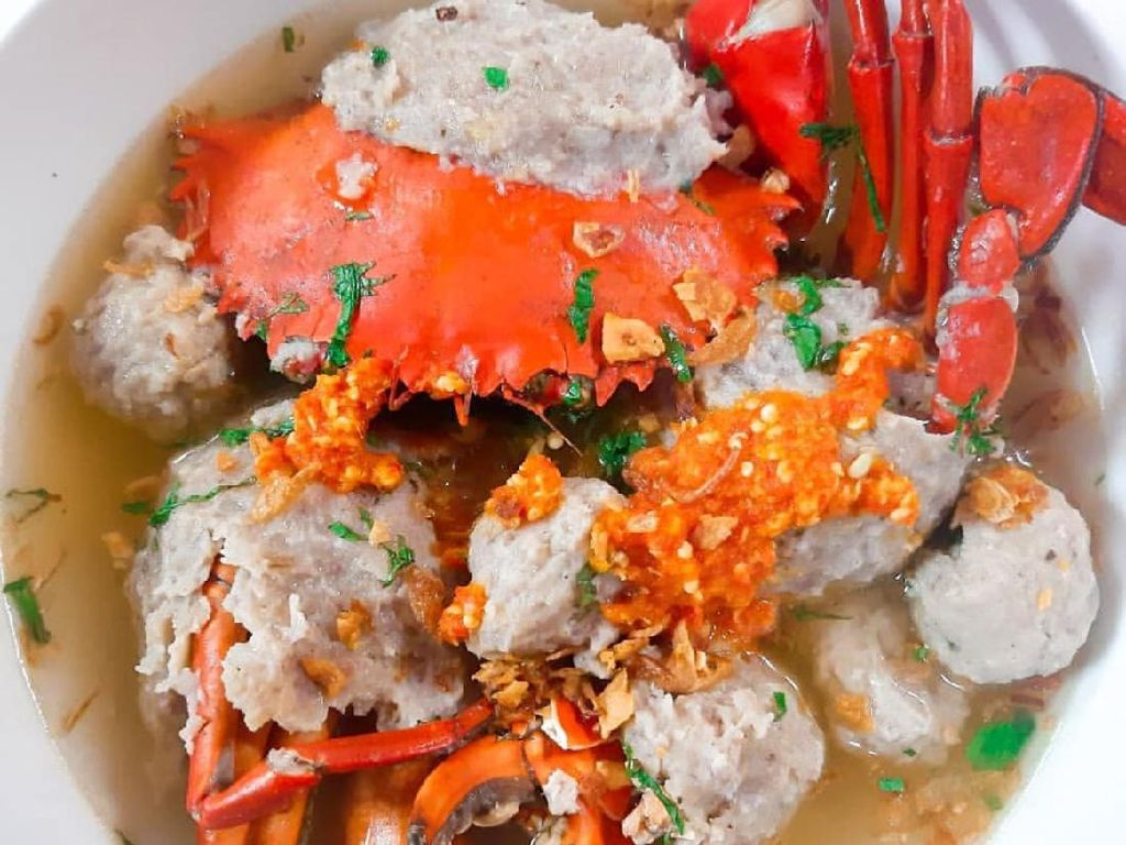 Masak Masak: Bakso Kepiting Homemade yang Gurih Banget