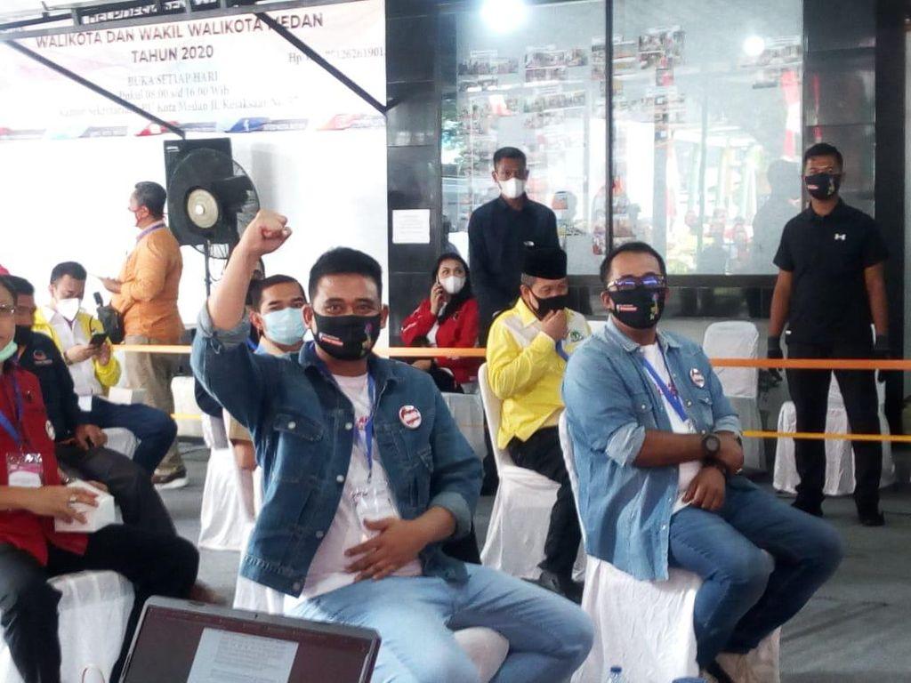Sirekap KPU Pilkada Medan 100%: Bobby Nasution-Aulia Rachman Menang