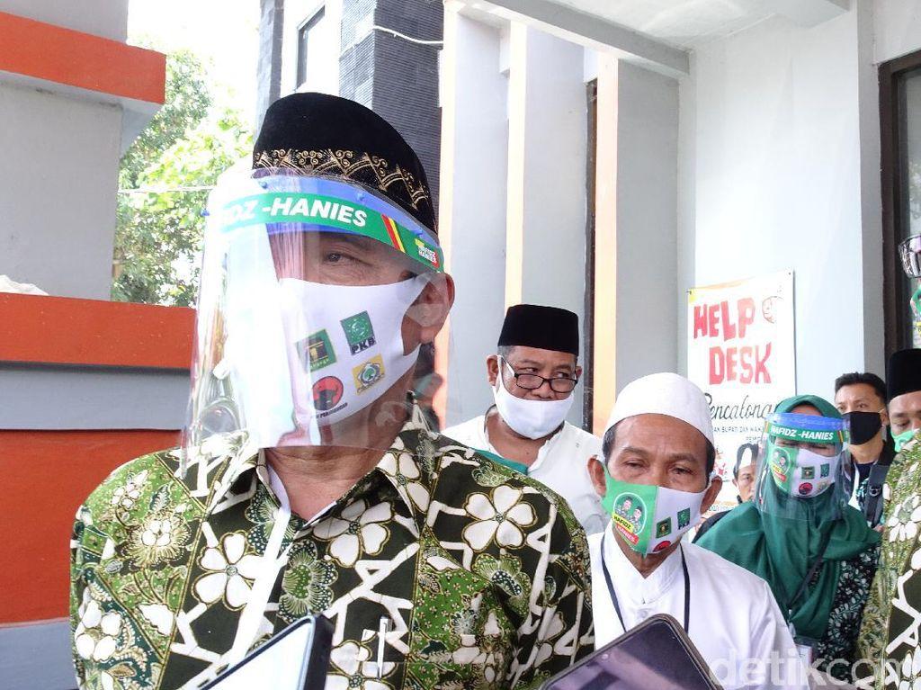 Daftar Pilbup Rembang, Bupati Petahana Bicara Dukungan Jas Merah-Hijau