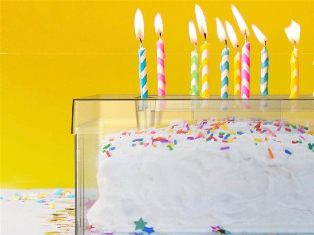 Cake Shield Ini Lindungi Kue Ultah dari Paparan Virus Saat Tiup Lilin