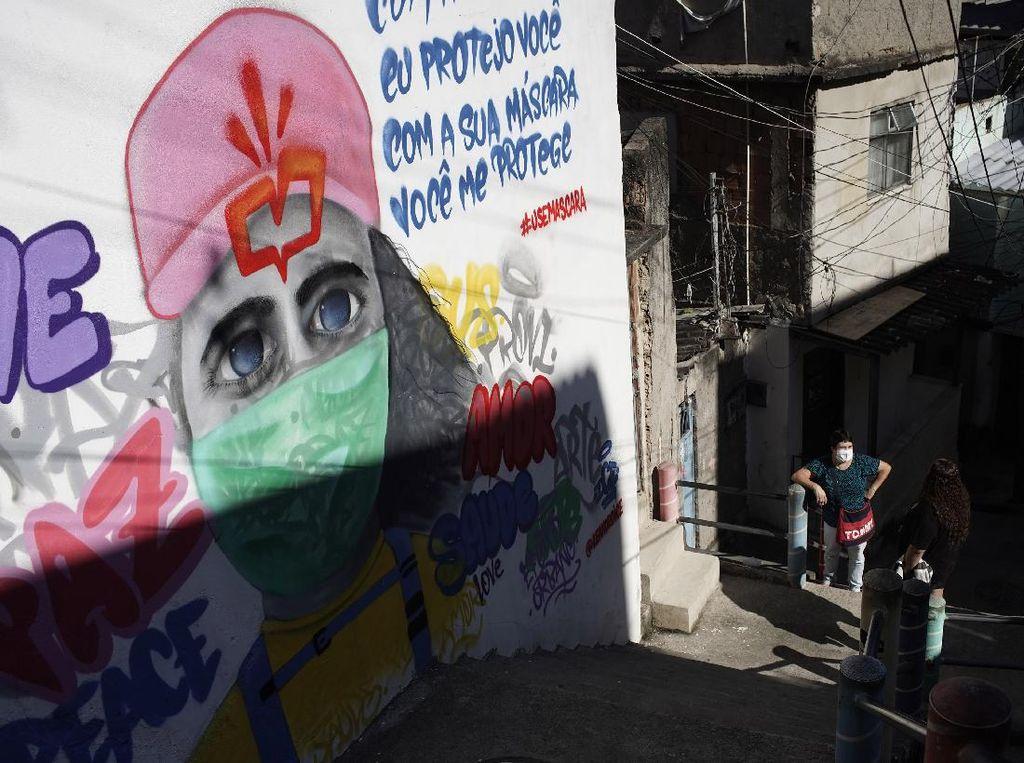 Lockdown Diterapkan di Ibu Kota Brasil untuk Redam Lonjakan Corona