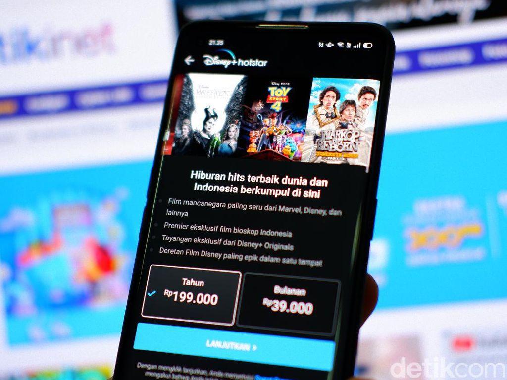 Tarif Disney+ Hotstar di Telkomsel Lebih Murah dari Netflix