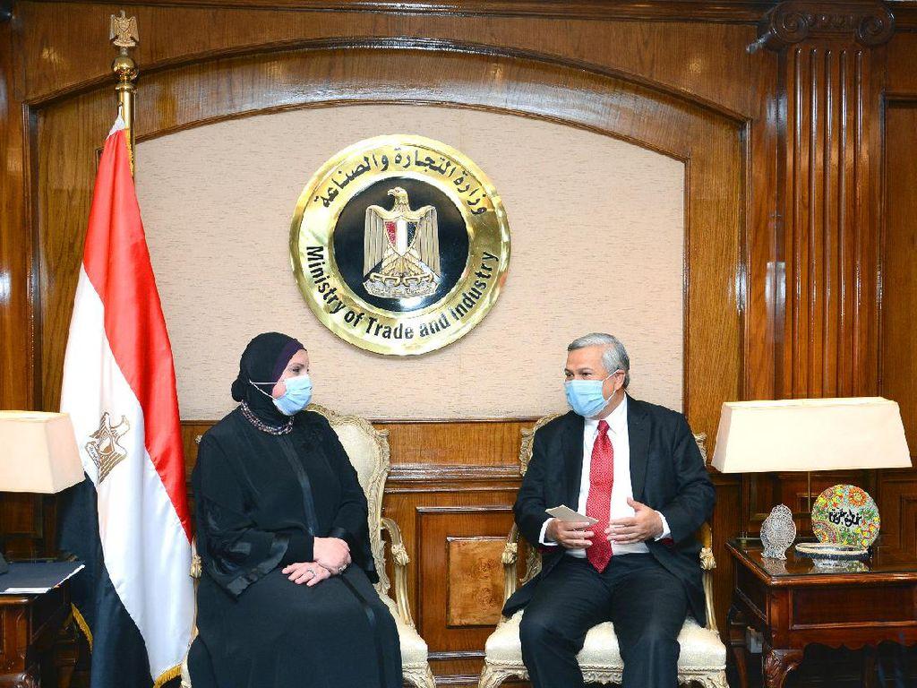 Dubes RI Kairo Temui Menteri Perdagangan Mesir, Bahas Kerja Sama Ekonomi
