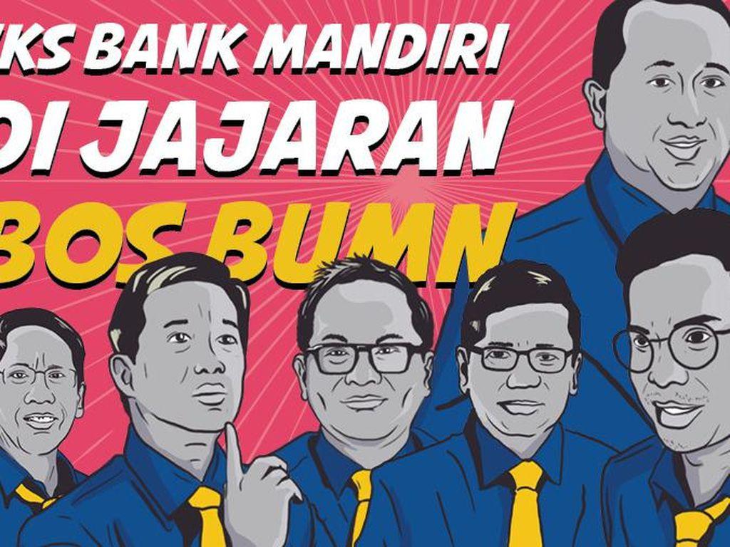 Eks Bank Mandiri di Jajaran Bos BUMN