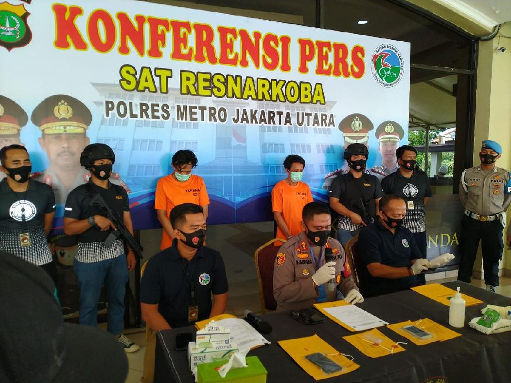 Polisi Sita 0,34 Gram Sabu dari Eks Drummer BIP Jaka Hidayat