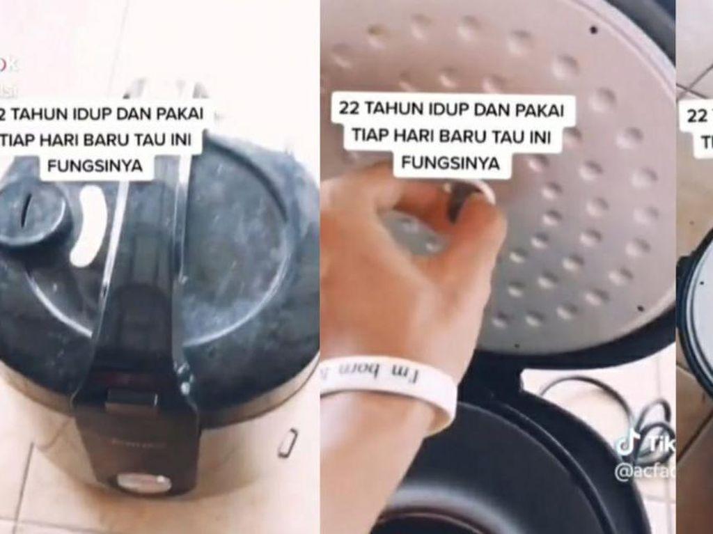 3 Food Hacks yang Bikin Netizen Takjub, Soal Galon hingga Rice Cooker