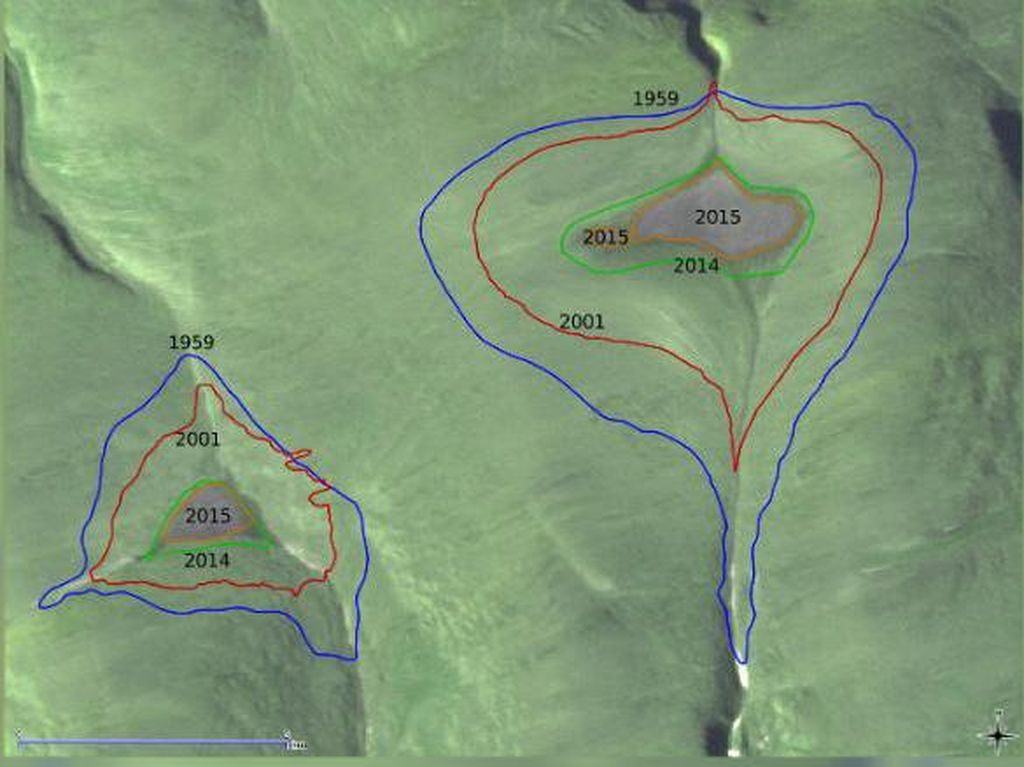 Lagi, Dua Gletser Arktik Menghilang