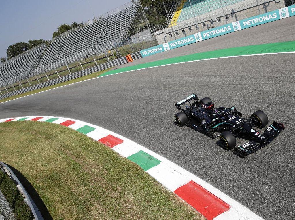 Free Practice II F1 GP Italia: Giliran Hamilton Tercepat