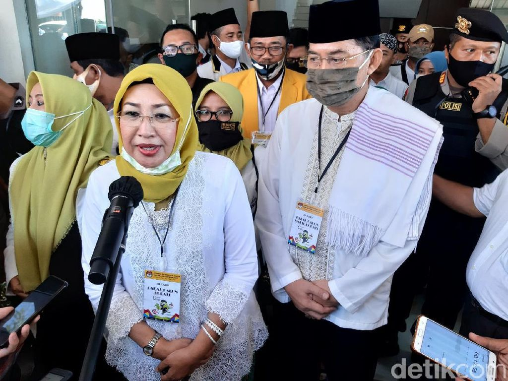 Keok di Quick Count Pilkada, Istri Bupati Semarang Legawa