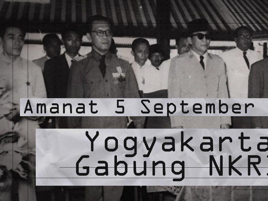 Hari Ini dalam Sejarah: Kesultanan Yogyakarta Gabung NKRI