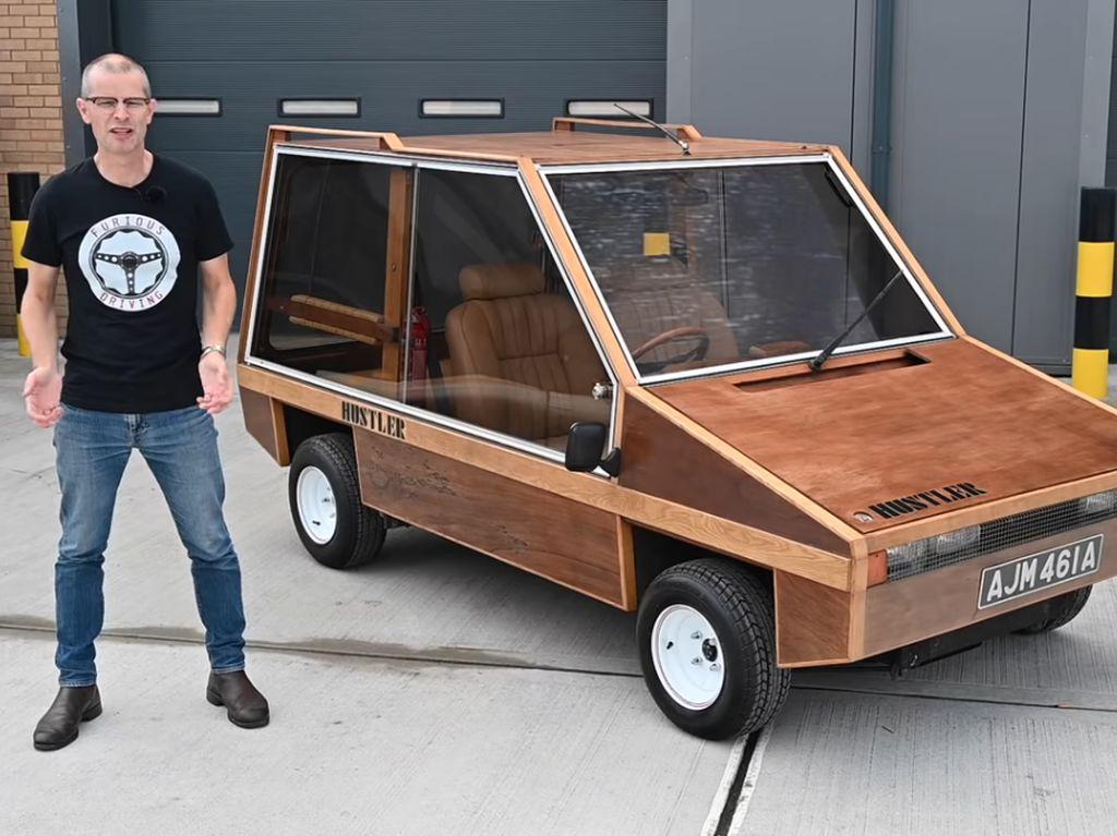 Mobil Terbuat dari Kayu, Bisa!