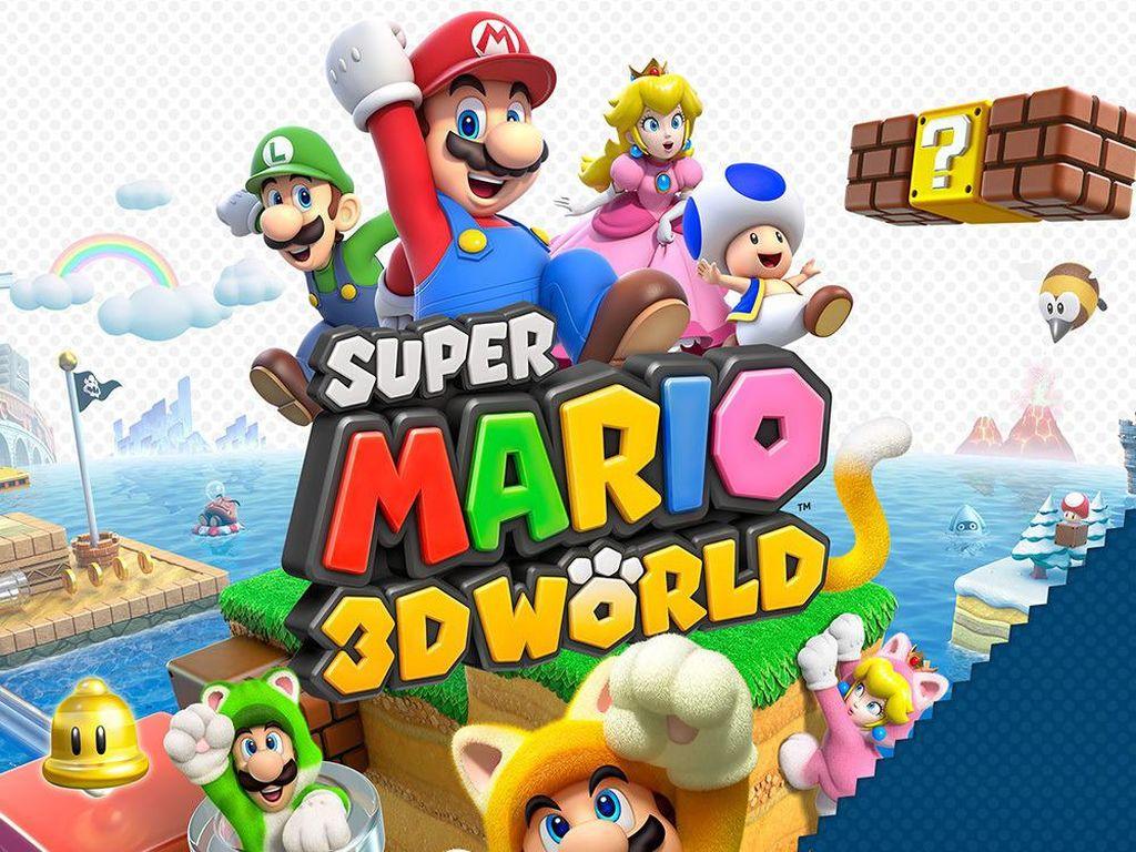 Nintendo Rayakan Ulang Tahun Super Mario dengan Game dan Konsol Klasik