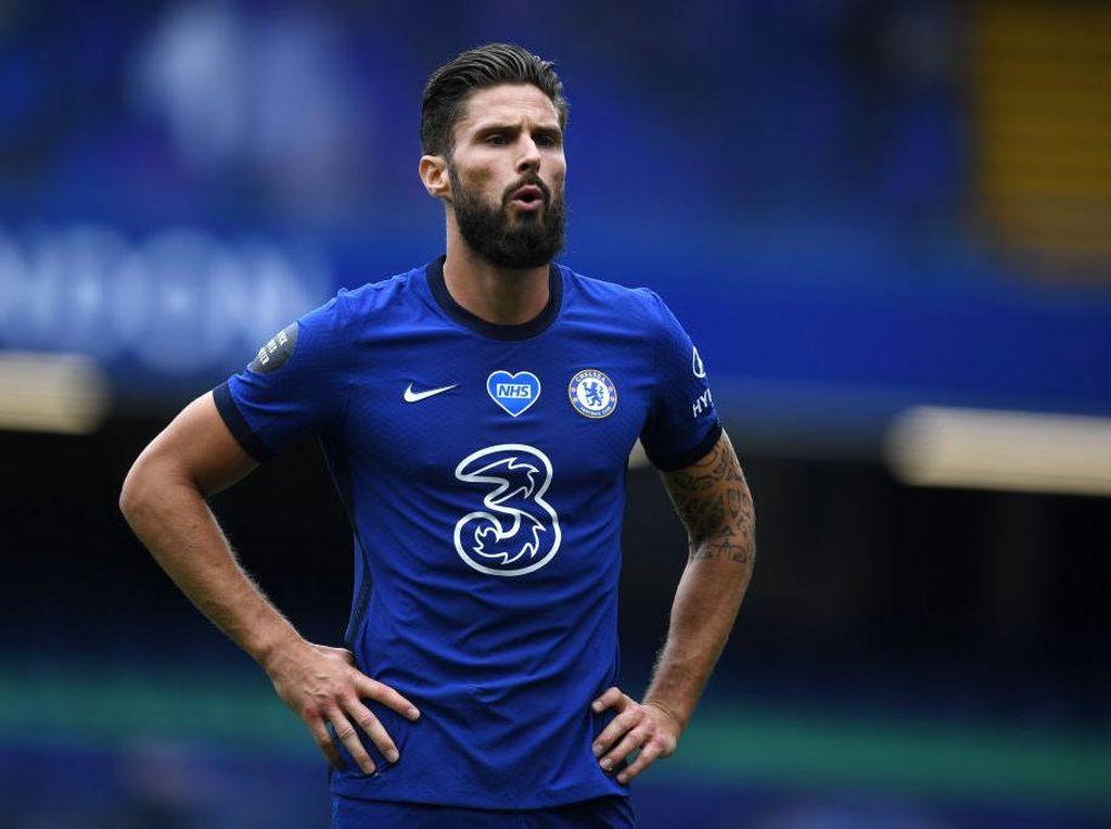 Frustrasi di Chelsea, Giroud Akui Hampir Gabung Inter dan Tottenham