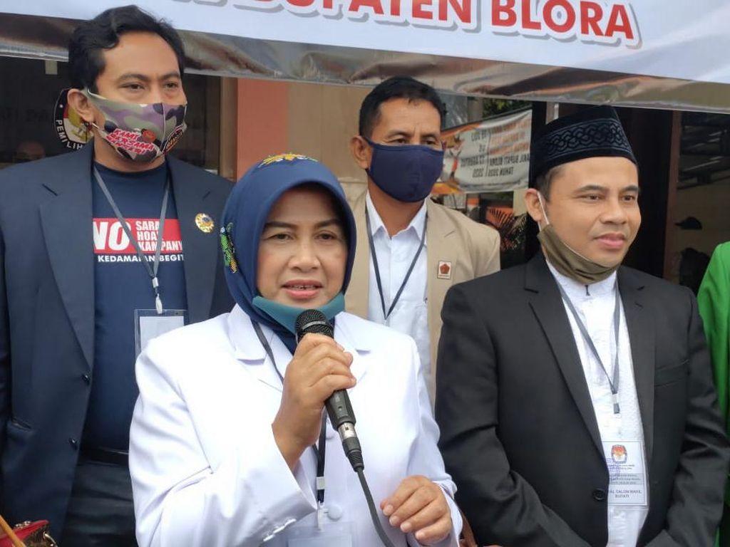 Istri Bupati Blora Jadi Pendaftar Pertama Pilkada