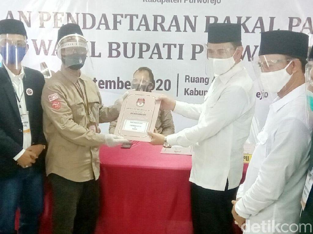 Pasangan Eks TNI-Polri Jadi Pendaftar Pertama Pilkada Purworejo