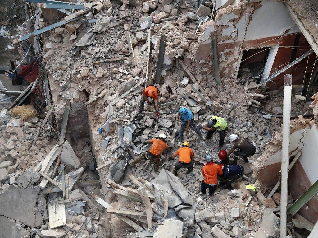 Tanda Kehidupan Terdeteksi di Balik Reruntuhan Sebulan Usai Ledakan Lebanon