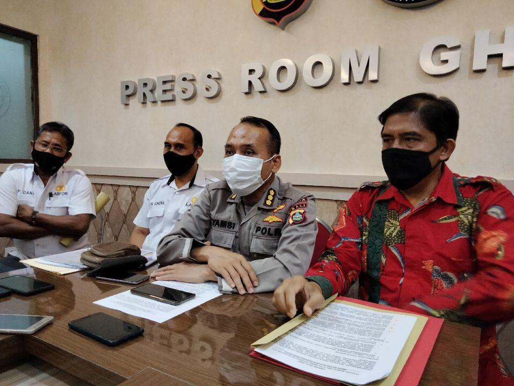 Polisi Pastikan Eks Kepala BPN Denpasar Meninggal Bunuh Diri di Toilet