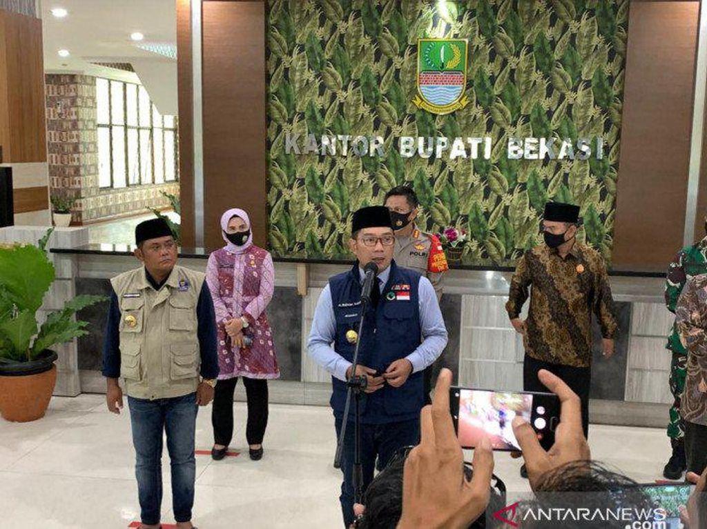 Jabar Kini Fokuskan Penanganan Corona di Kabupaten Bekasi-Karawang