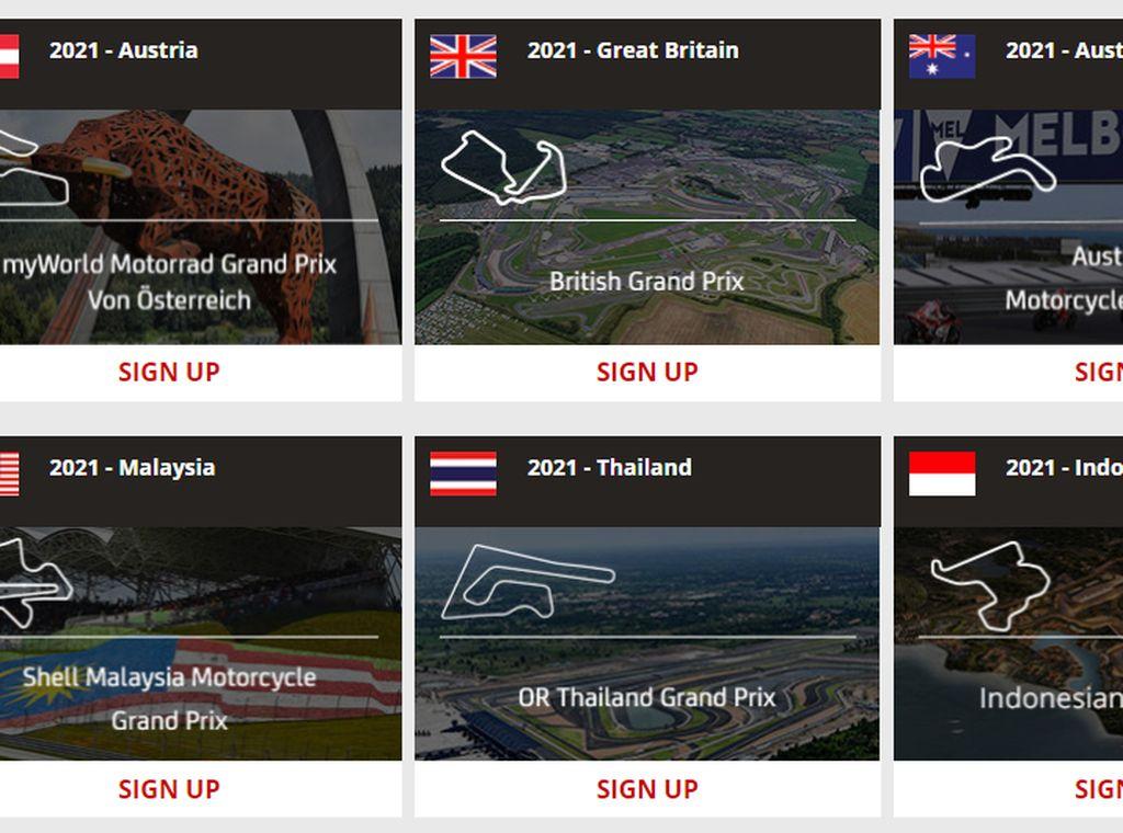 Sirkuit Mandalika Muncul di Situs Penjualan Tiket Resmi MotoGP, Sudah Bisa Dibeli?