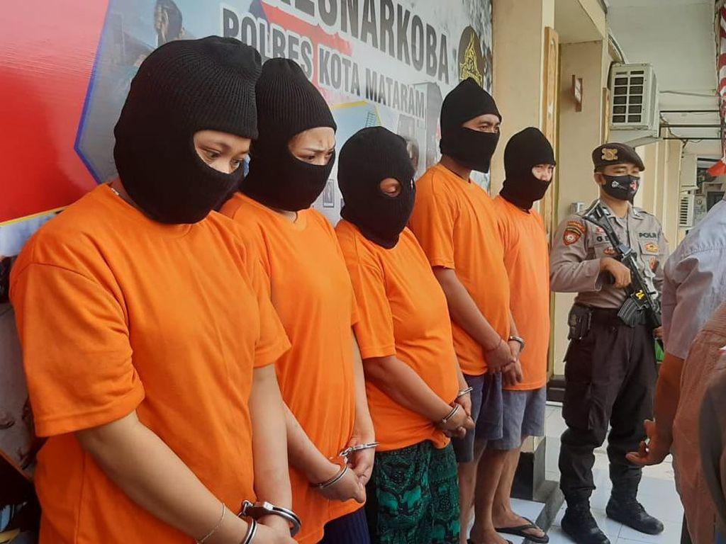 Pesta Narkoba, Suami-Istri di Mataram Ditangkap Polisi