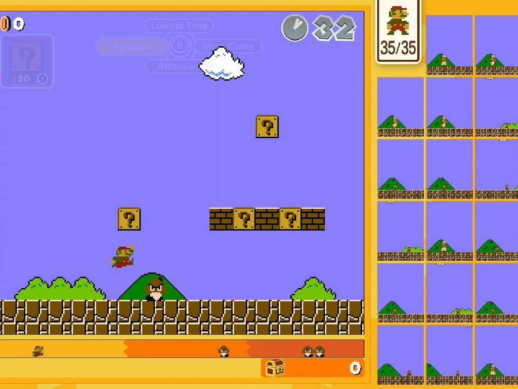 Nintendo Ubah Super Mario Bros Jadi Game Battle Royale