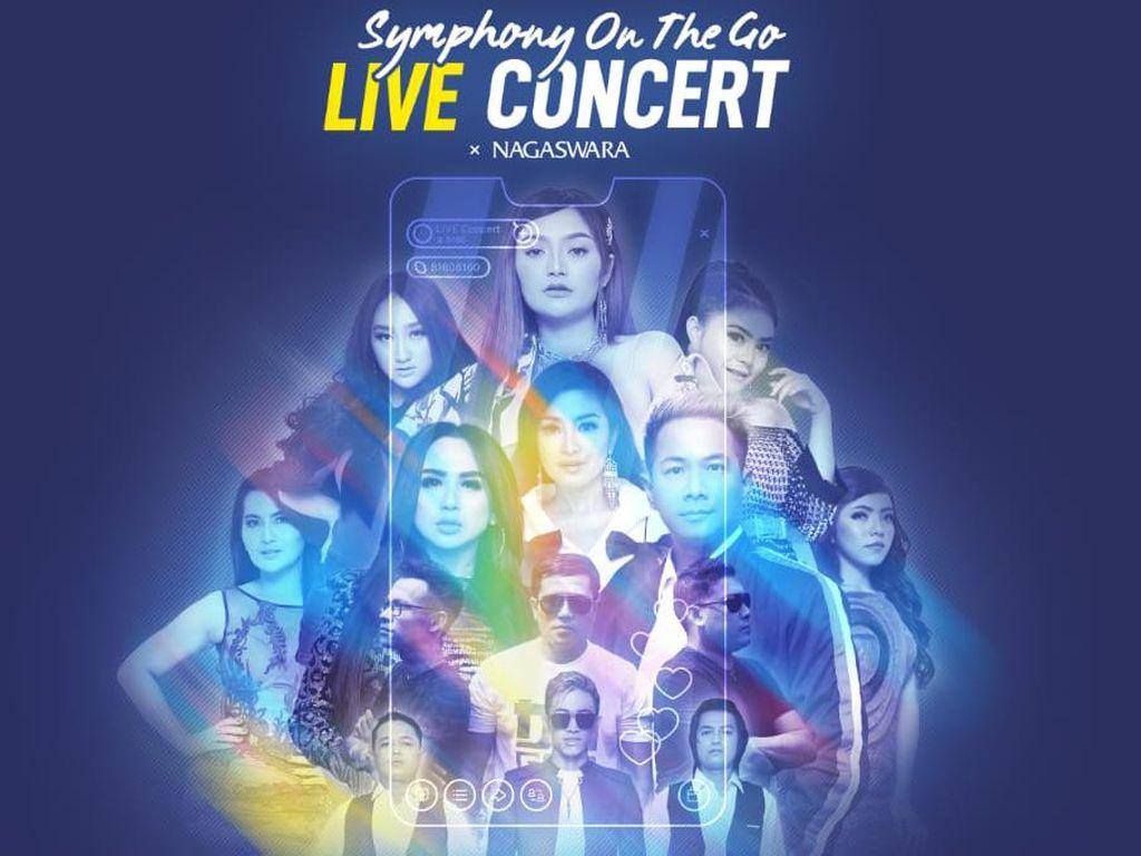 Siti Badriah hingga Delon Isi Line Up Konser Virtual Symphony On The Go