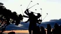 Aksi Pemain Golf di Turnamen Spanyol
